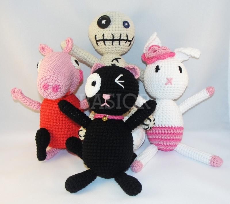 Szydełkowe lalki